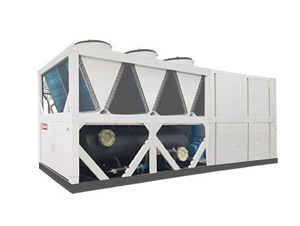 一体式蒸发冷螺杆空气源热泵